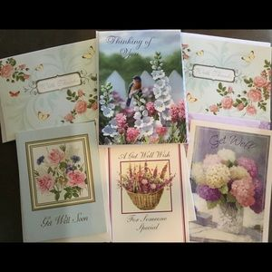 Assorted Thinking of You and Get Well Cards